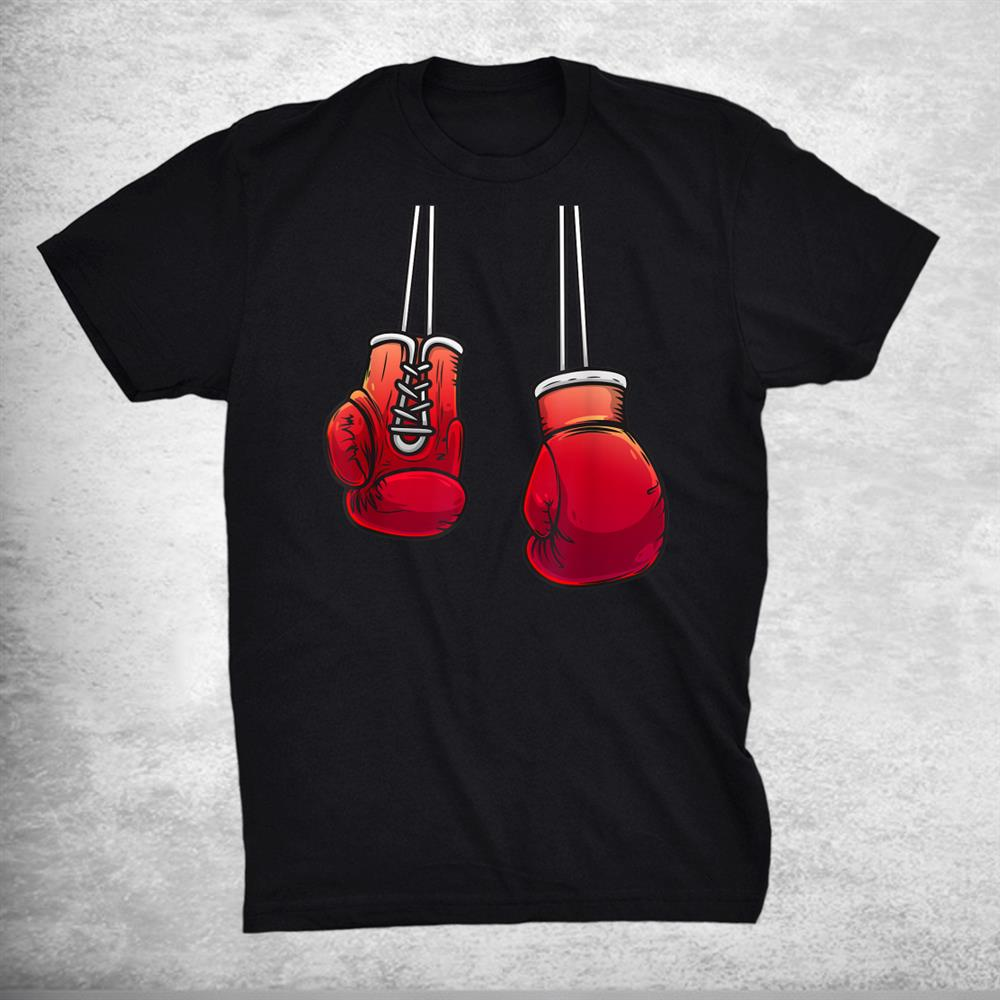 Cool Boxing Gloves For Boxer Fighting Lover Shirt
