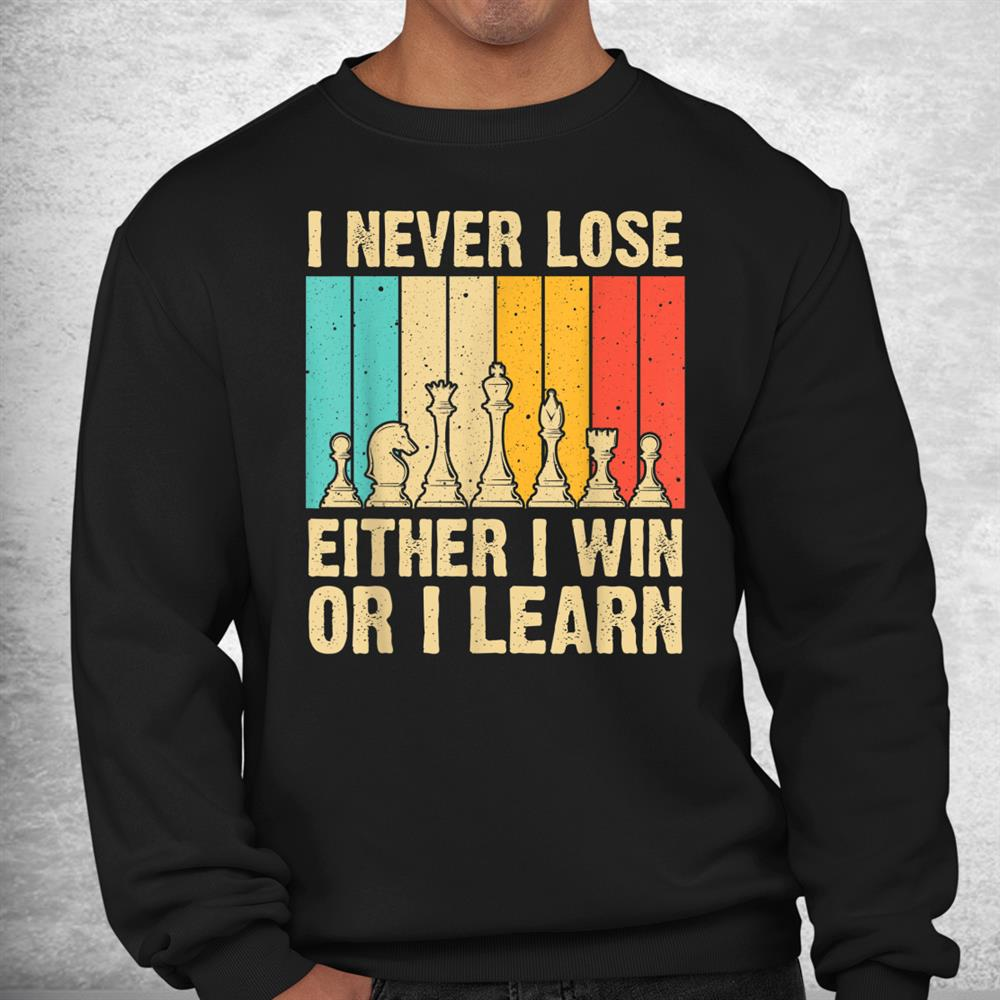 Cool Chess Lover Novelty Chess Player Shirt