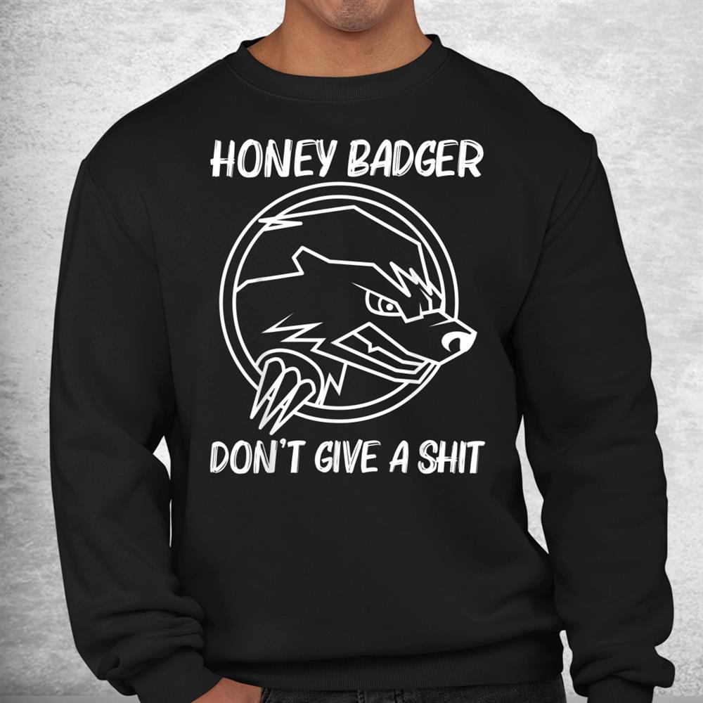 Cool Honey Badger Mammal Honey Hunter Shirt