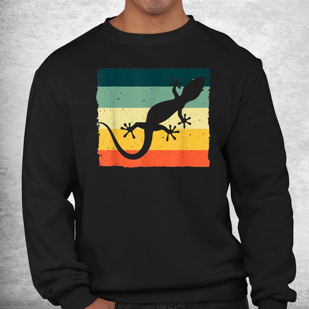 Cool Lizard Vintage Crested Leopard Gecko Shirt