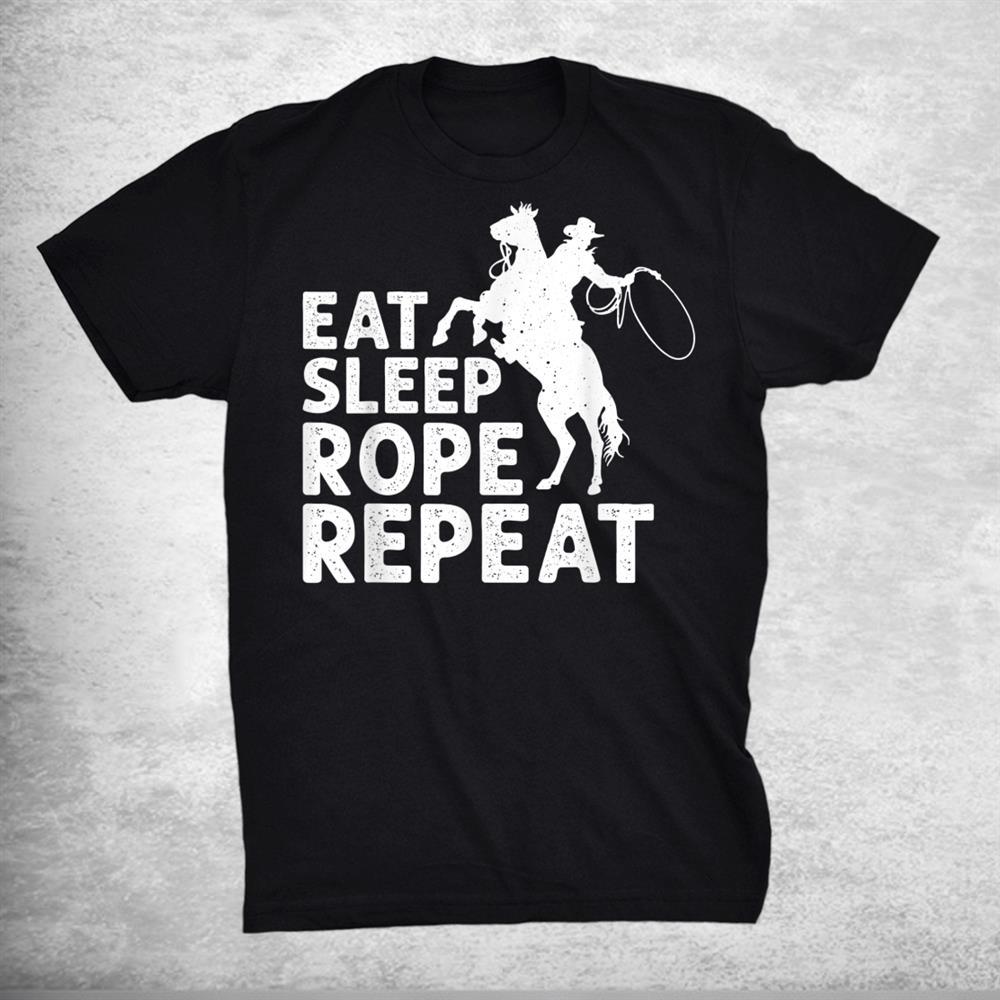 Cool Roping Bull Rider Cowboy Accessories Shirt