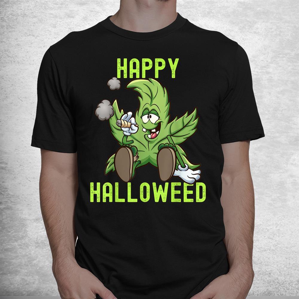 Cute Halloweed Halloween Costume Stoners Shirt