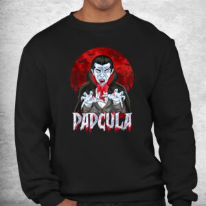 dad dracula costume dadcula funny halloween shirt 2
