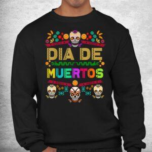 day of the dead dia de muertos sugar skull mexico mexican shirt 2