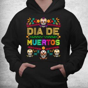 day of the dead dia de muertos sugar skull mexico mexican shirt 3