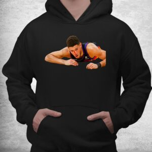 devin booker funny nosebleed busts open nose print on back shirt 3