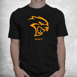 dodge hellcat orange shirt 1