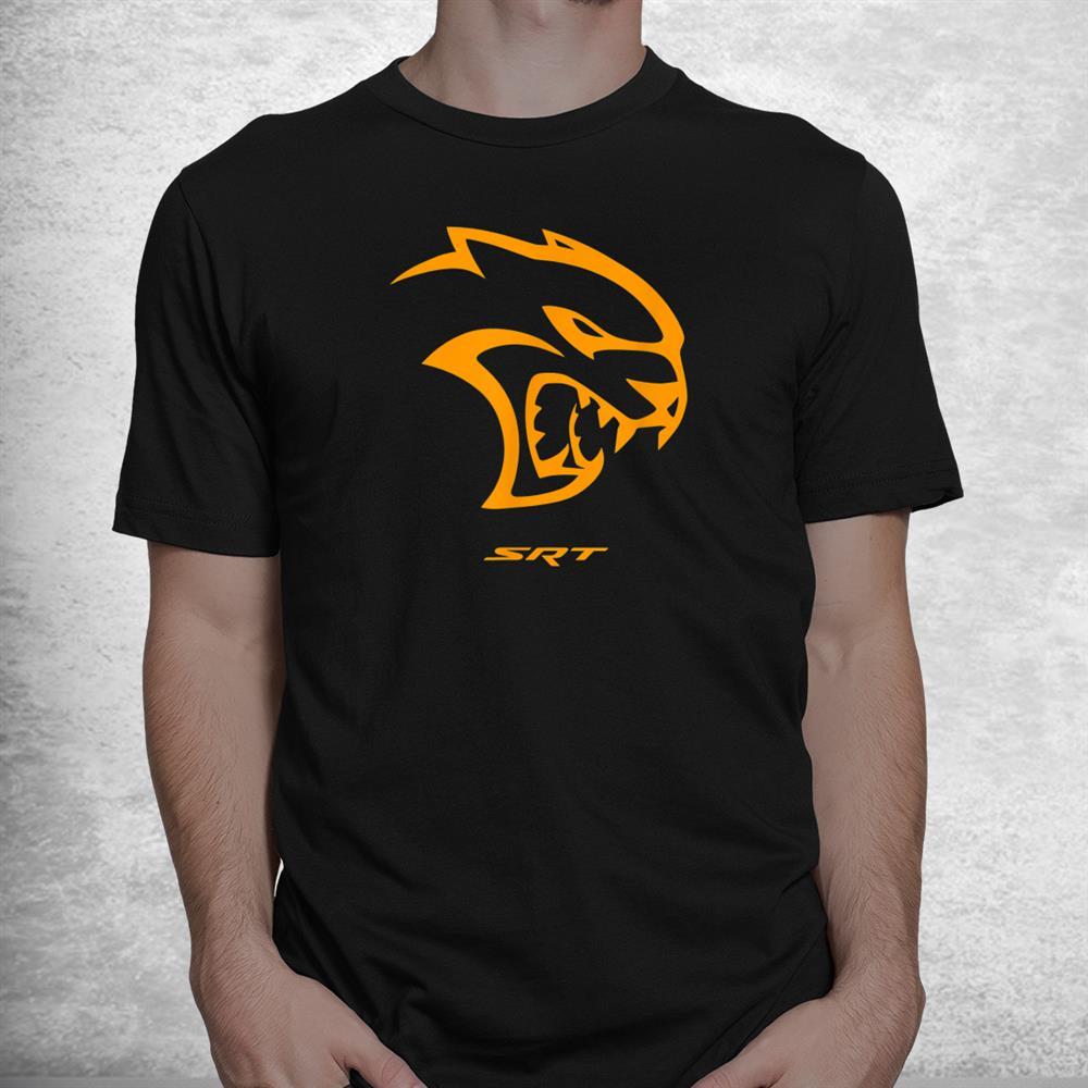 Dodge Hellcat Orange Shirt