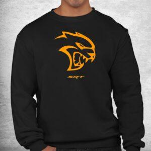dodge hellcat orange shirt 2