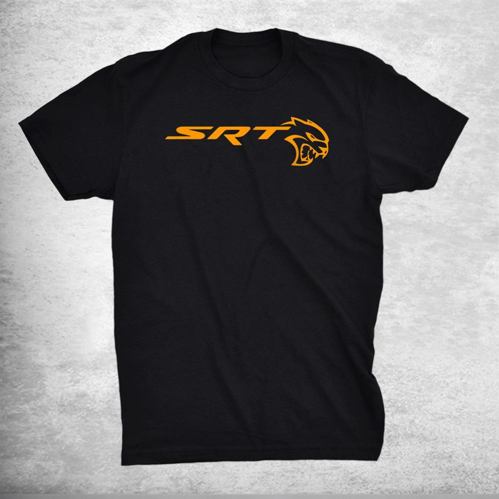 Dodge Srt Hellcat Orange Shirt