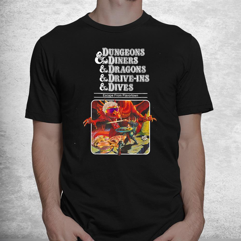 Dungeons Diners Dragons Shirt
