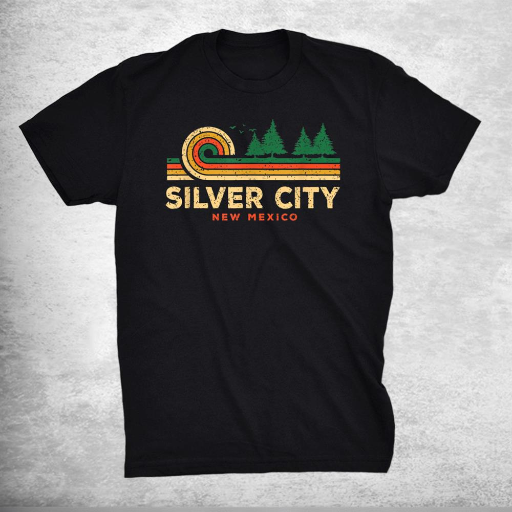 Evergreen Sunset Silver City Forest New Mexico Woods Shirt