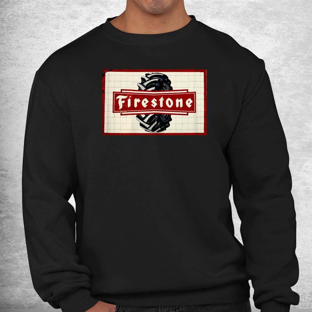 Firestones Funny Tires Vintage Shirt