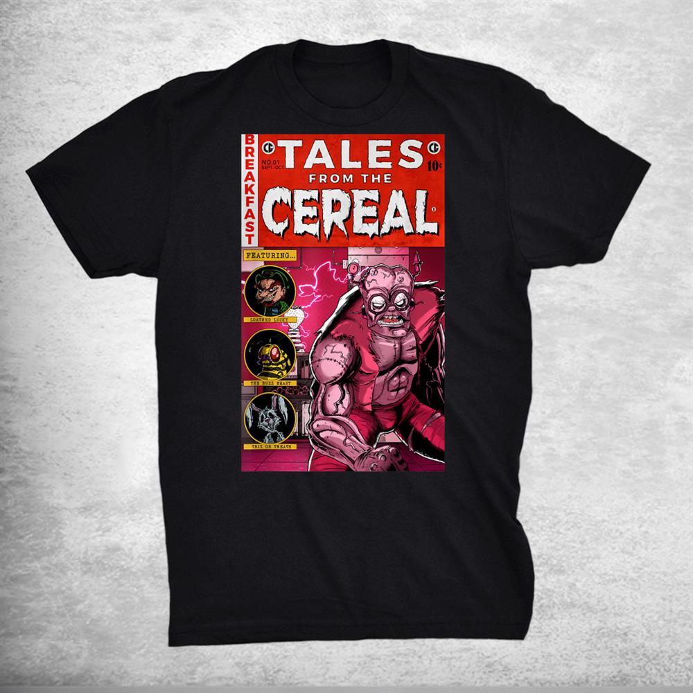 Frankenberrys Funny Tales Cereal Shirt