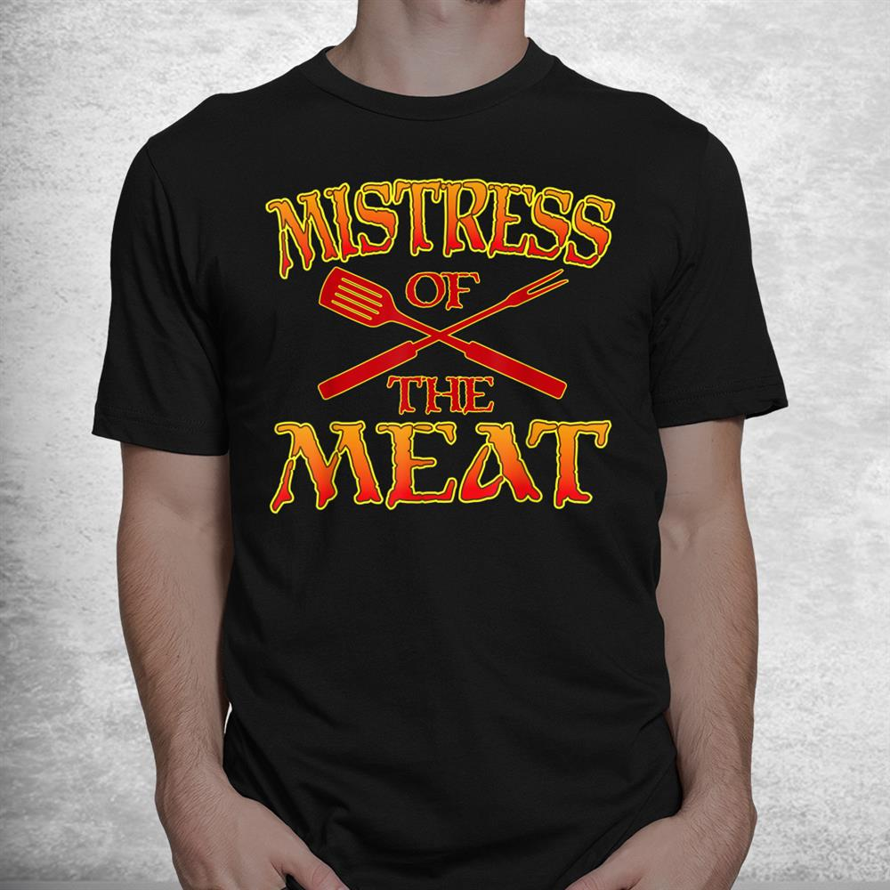 Funny Barbecue Outfit Seductive Grill Dominatrix Shirt