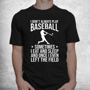 funny baseball themed baseball pitcher catcher shirt 1