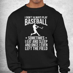 funny baseball themed baseball pitcher catcher shirt 2