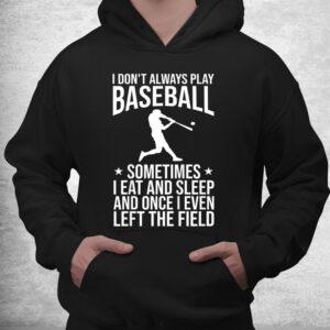 funny baseball themed baseball pitcher catcher shirt 3