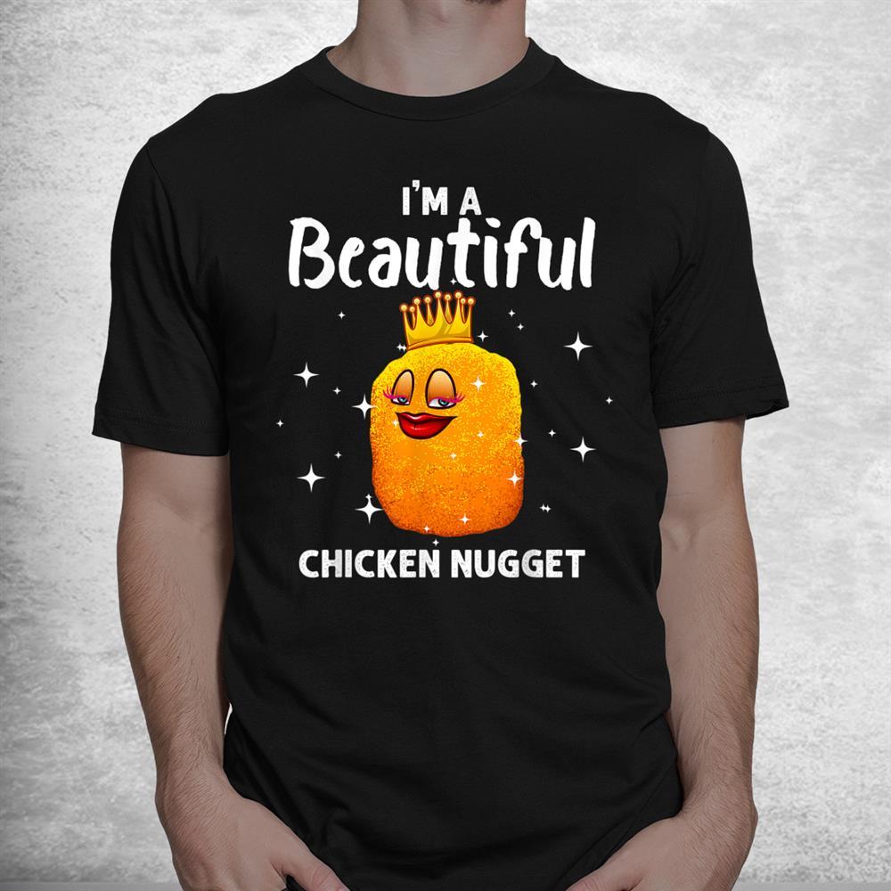 Funny Chicken Nugget Nug Life Chicken Lover Shirt