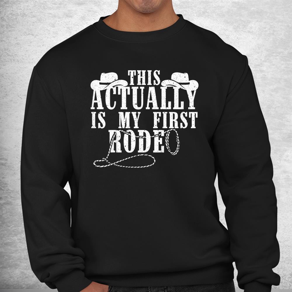 Funny Cowboy Rodeo Western Horseback Racing Shirt