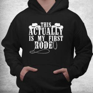 funny cowboy rodeo western horseback racing shirt 3