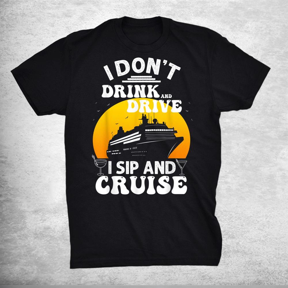 Funny Cruisecruise Vacation Boat Trip Shirt