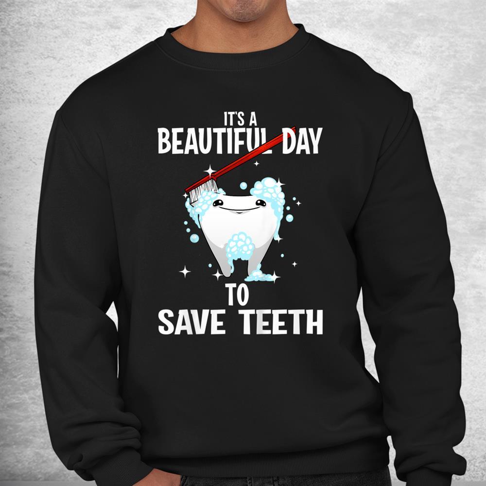 Funny Dental Teeth Dentist Tooth Fairy Hygiene Shirt