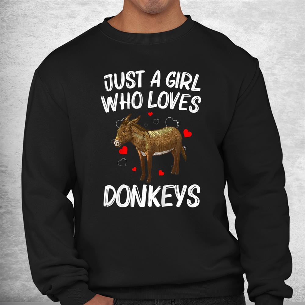 Funny Donkey Mule Animal Farming Shirt