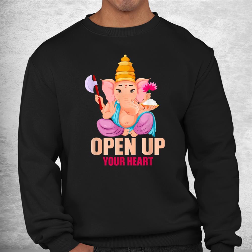 Funny Ganesha Hinduism Yoga Meditation India Elephant Shirt