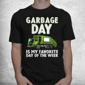 funny garbage truck toddlers waste garbage day shirt 1