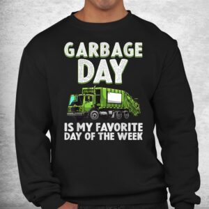 funny garbage truck toddlers waste garbage day shirt 2