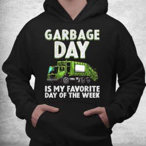 funny garbage truck toddlers waste garbage day shirt 3