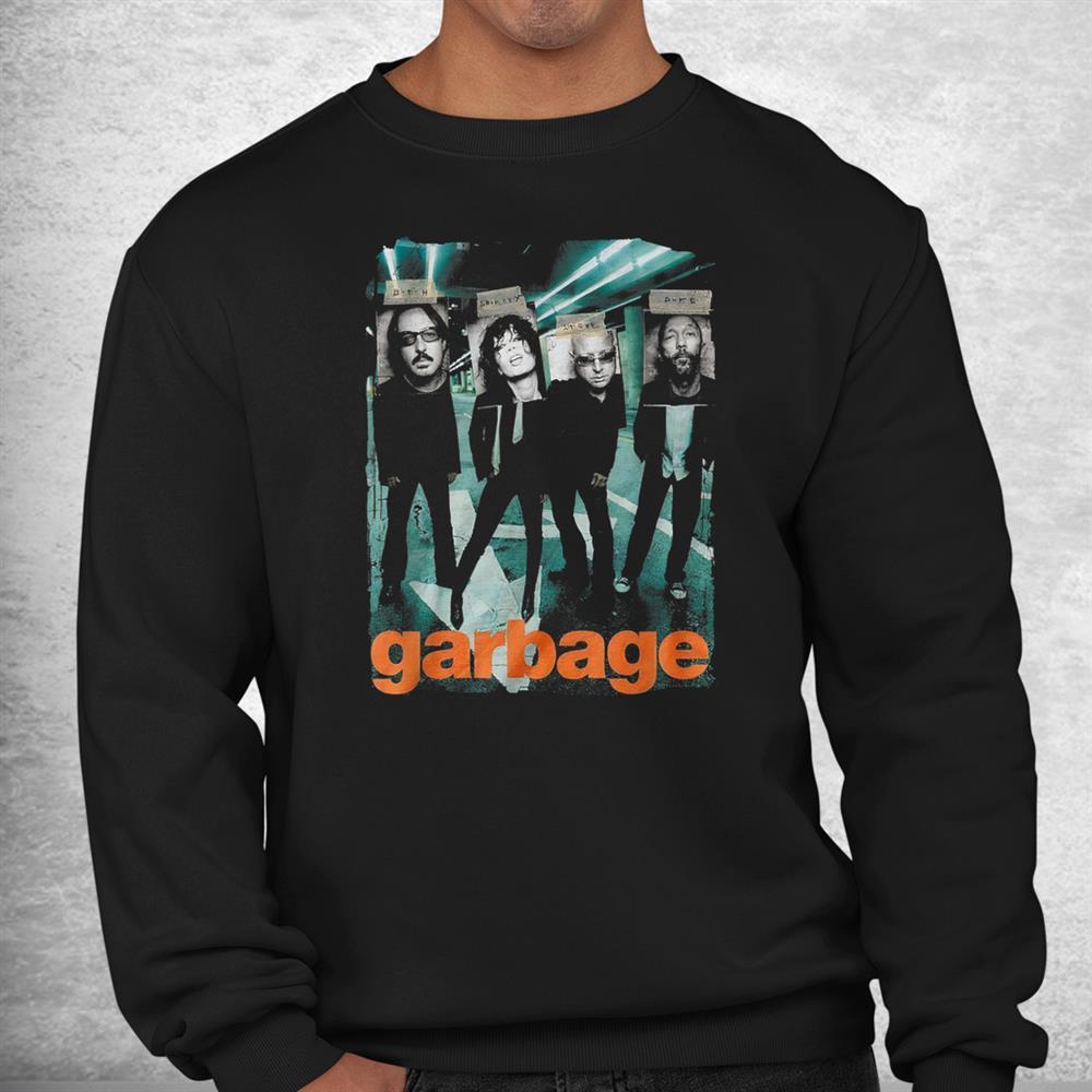 Funny Garbages Arts Love Rock Band Shirt