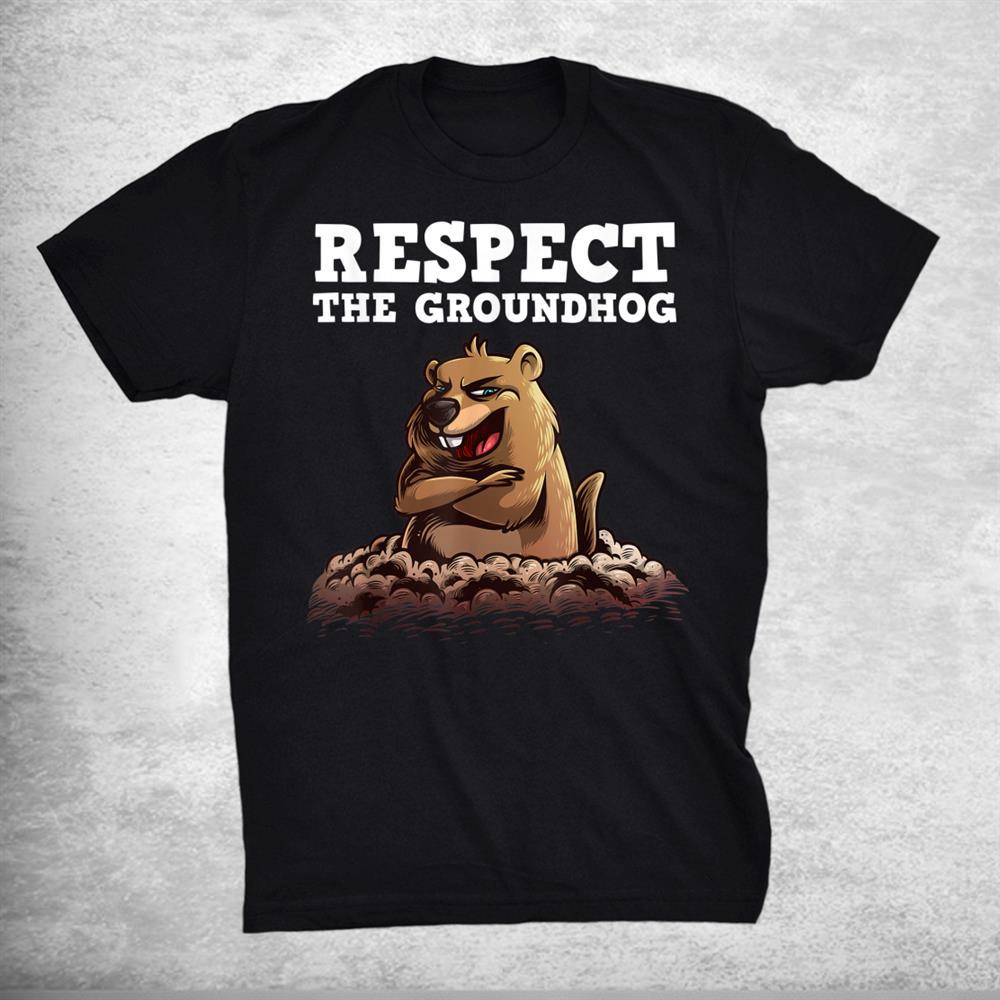 Funny Groundhog Groundhog Day Woodchuck Animal Shirt