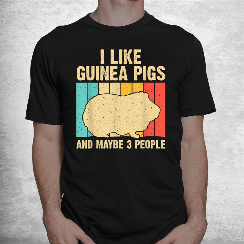 Funny Guinea Pig Guinea Pig Lovers Shirt