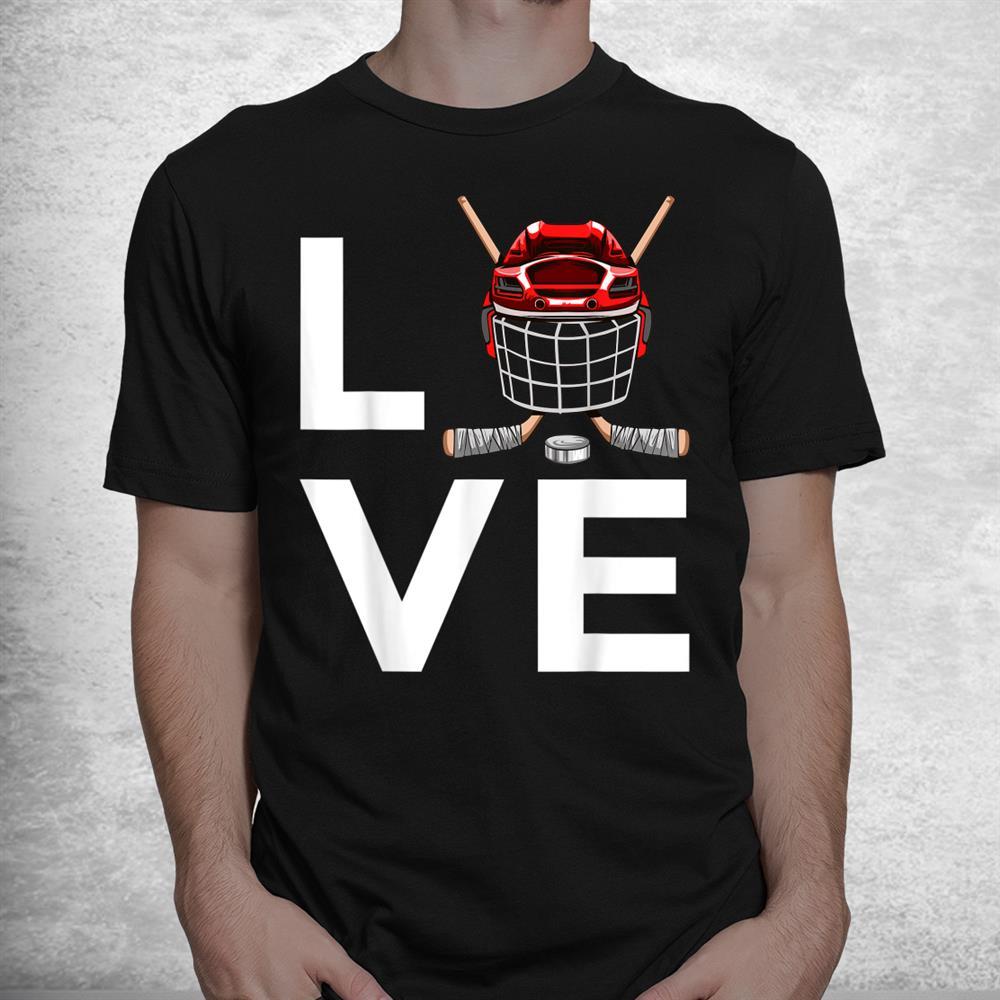 Funny Hockey Ice Hockey Players Shirt
