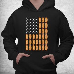 funny hot dog american flag foodie shirt 3