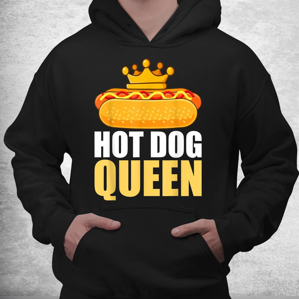 Funny Hot Dog Grilled Wiener Sausage Buns Shirt