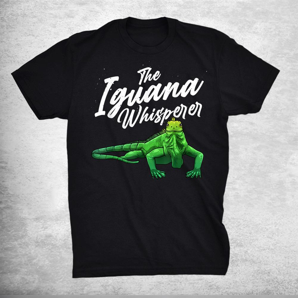 Funny Iguana Reptile Lover Herpetology Shirt