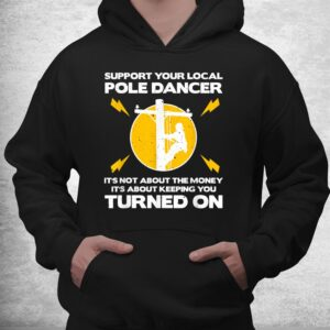 funny lineman humor lovers electronics shirt 3