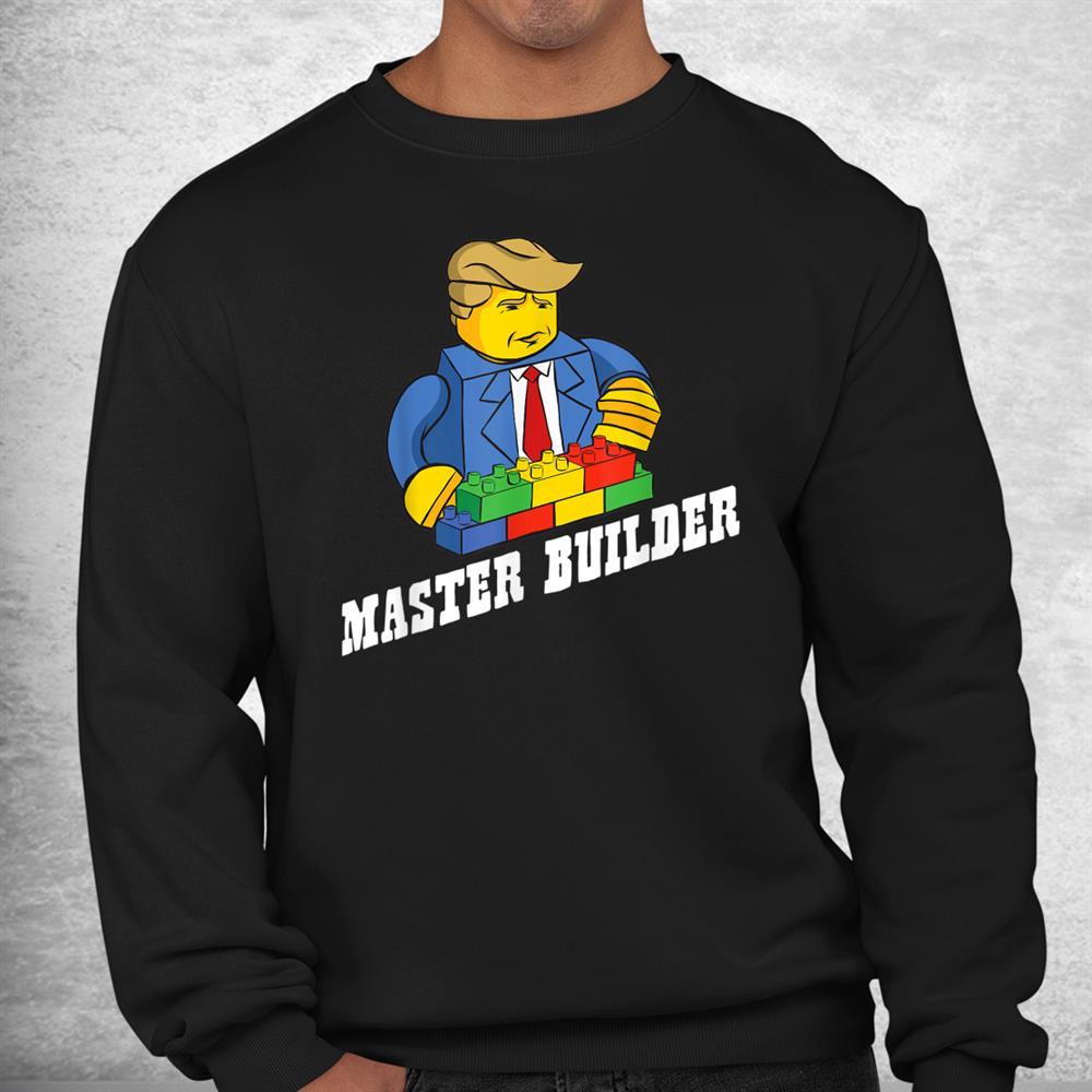 Funny Master Builder Building Blocks Shirt