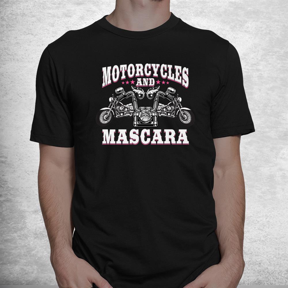 Funny Motorcycle Lover Biker Female Shirt