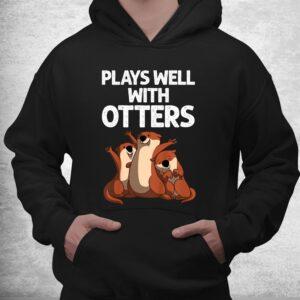 funny otter sea otter wild pet mammal shirt 3
