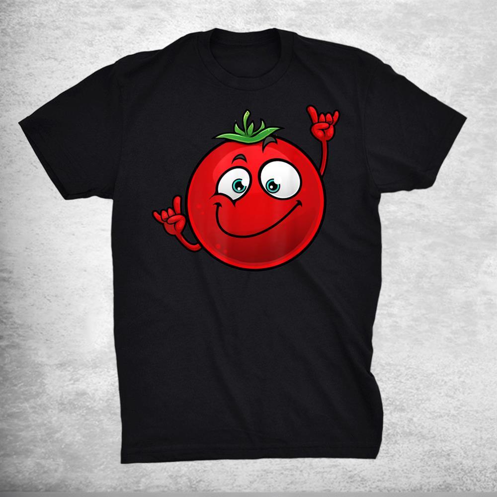 Funny Tomato Dancing Farm Foodie Shirt