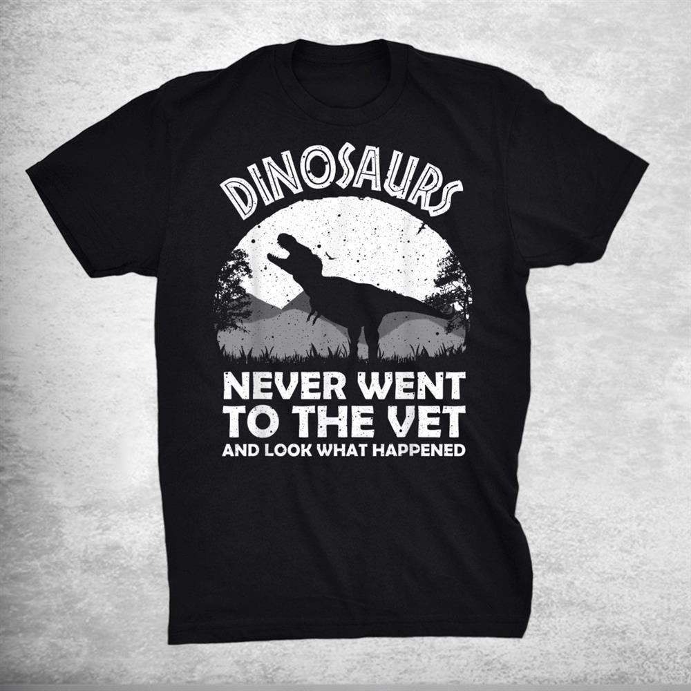Funny Veterinary Zoo Technician Vet Assistant Shirt