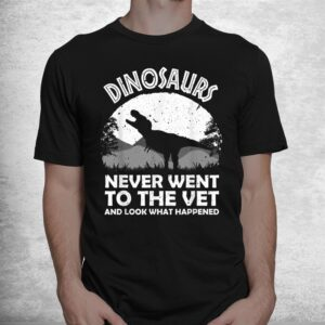 funny veterinary zoo technician vet assistant shirt 1