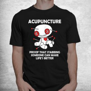 funny voodoo doll goth emo acupuncture shirt 1