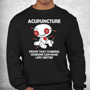 funny voodoo doll goth emo acupuncture shirt 2
