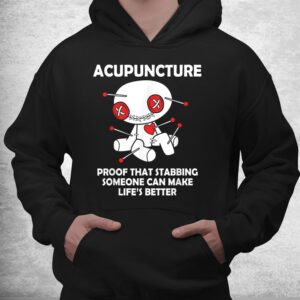 funny voodoo doll goth emo acupuncture shirt 3