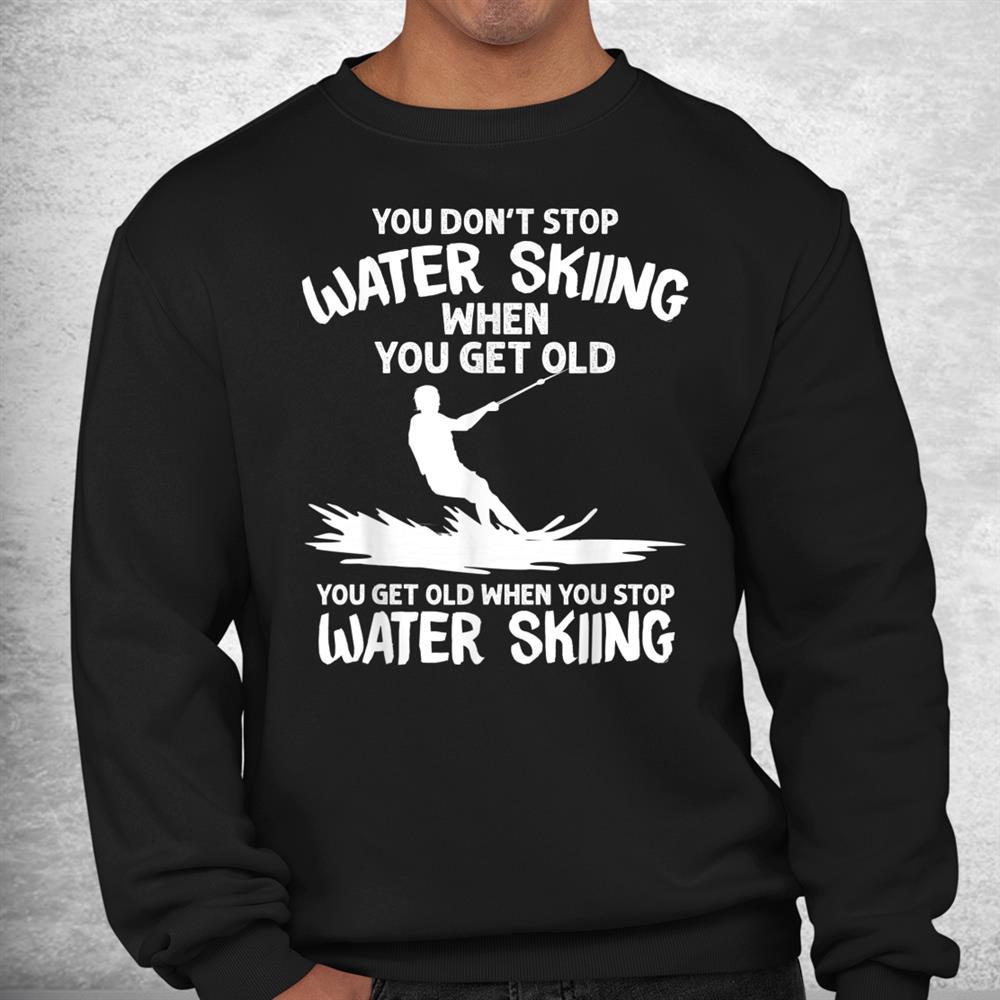 Funny Water Skiing Water Skier Athlete Shirt